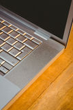 Close up view of a laptop Stock Photo