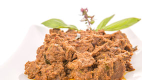 Close Up View Of Malay Beef Rendang Dish I Stock Images