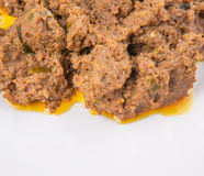 Close Up View Of Malay Beef Rendang Dish V Royalty Free Stock Photography