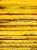 Close-up view of a metal blind background. Yellow vintage metal blind rusty Royalty Free Stock Images
