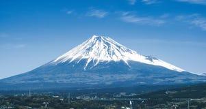 Close-up View of Mount Fuji. Japan royalty free stock image
