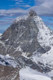 Close up view of mount Matterhorn,  Alps, Switzerland Stock Image