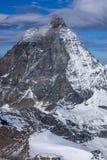 Close up view of mount Matterhorn, Alps, Switzerland Stock Images