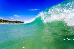 Close-up view of a ocean wave Royalty Free Stock Image