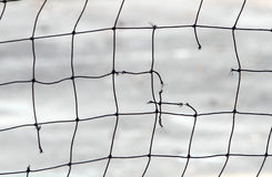 Free Close-up View Of A Broken Volleyball Net Royalty Free Stock Photography - 45761257