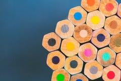Free Close Up View Of Crayons. Stock Photos - 90190243