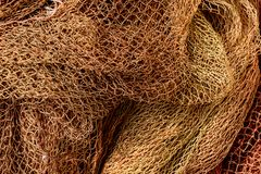 Free Close Up View Of Fishing Net Stock Photos - 110536963