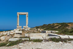 Free Close Up View Of Portara, Apollo Temple Entrance, Naxos Island, Greece Royalty Free Stock Image - 73999676