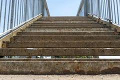 A Concrete Stair Case stock photos
