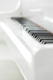 Close up view of piano keyboard Stock Image