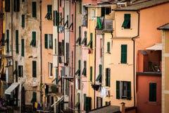 Close-up view of Portovenere, Italy Stock Photo