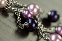 Close up view of pretty jewellery Stock Photos