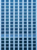 Close-up view of rich skyscraper condo with a lot of windows Stock Images