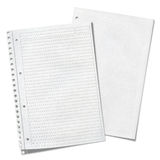 Close up view of  sheets of lined paper Royalty Free Stock Photography