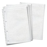 Close up view of  sheets of lined paper Royalty Free Stock Images