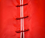 Detail of traditional vietnamese dress. Royalty Free Stock Photos