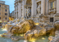 Close-up view of Trevi Fountain Stock Photography