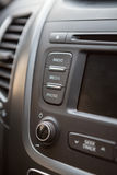 Close up view of vehicle dashboard Royalty Free Stock Photos
