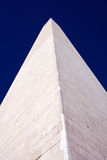 Close-up view of the Washington Monument vertical Stock Image