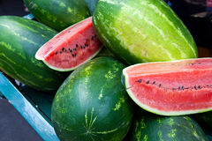 Close up view of watermelons Stock Image