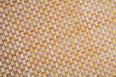 Close up view on wicker texture with small details Royalty Free Stock Photos