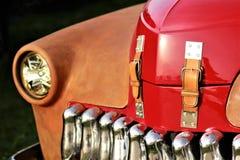 Close up of a vinatge car Stock Images