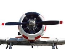 Close up of a vintage aircraft Stock Photos