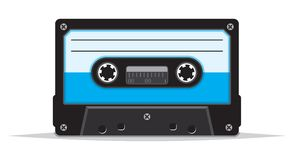 Close up of vintage audio tape Stock Images