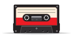 Close up of vintage audio tape Royalty Free Stock Image