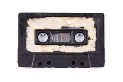 Close up of a vintage audio tape Stock Photo