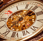 Close up on vintage clock Stock Photo