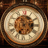 Close up on vintage clock Stock Image