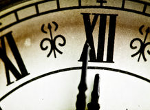 Close up on vintage clock Stock Image