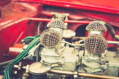 Close up of a vintage engine Stock Photography