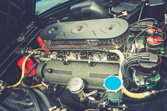 Close up of a vintage engine Stock Image