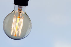 Close up of vintage light bulb Stock Photography