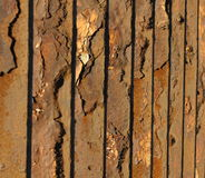 Old metal fence Stock Image