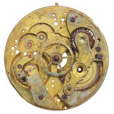Close-up of a vintage rusty clock Stock Photo