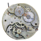 Close-up of a vintage rusty clock Stock Photography