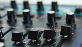 Close up of Vintage Synth Royalty Free Stock Image