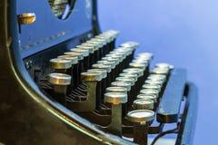 Close up of vintage typewriter. Stock Images
