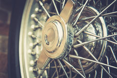 Close up of vintage wheel Stock Photography