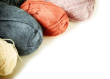 Close up of vintage wool knitting Royalty Free Stock Photo