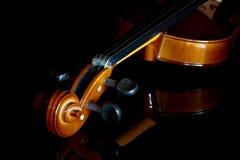 Close-up violin Royalty Free Stock Photos