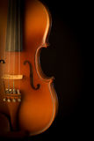 Close up of a violin Royalty Free Stock Photos