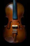 Close up of a violin Royalty Free Stock Photo