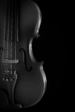 Close up of a violin Royalty Free Stock Image