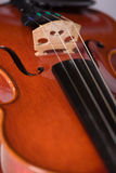 Close Up Violin Royalty Free Stock Photo