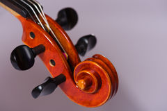 Close Up Violin Royalty Free Stock Photography