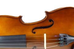 Close-up violin Stock Photography